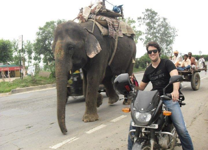 La India en Motocicleta: William Ramos en Moto por la India