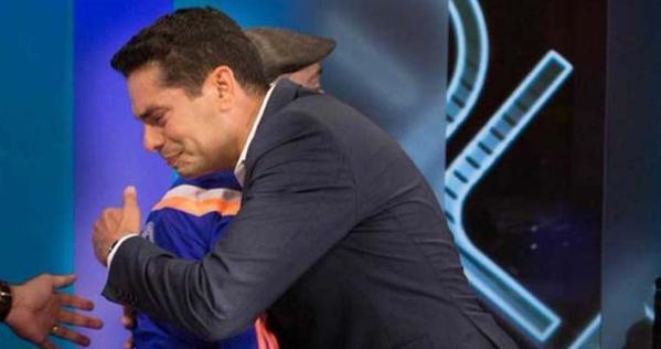 Ismael Cala en llanto tras escuchar testimonio del gran Maickel Melamed