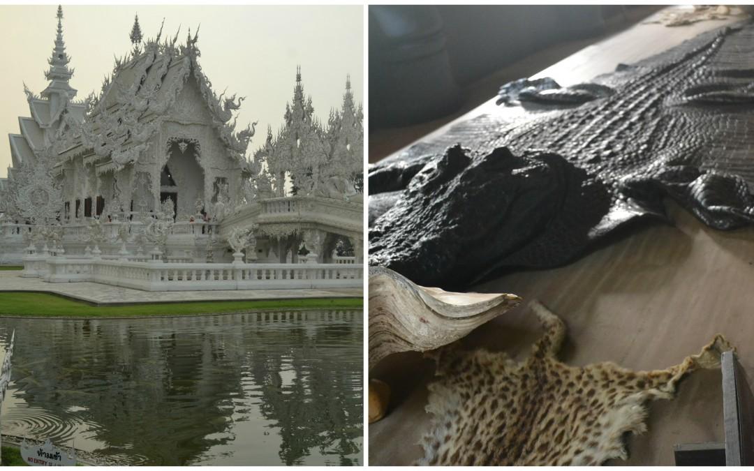 White Temple & Black House: El Cielo y El Infierno Se Juntan en el Norte de Tailandia