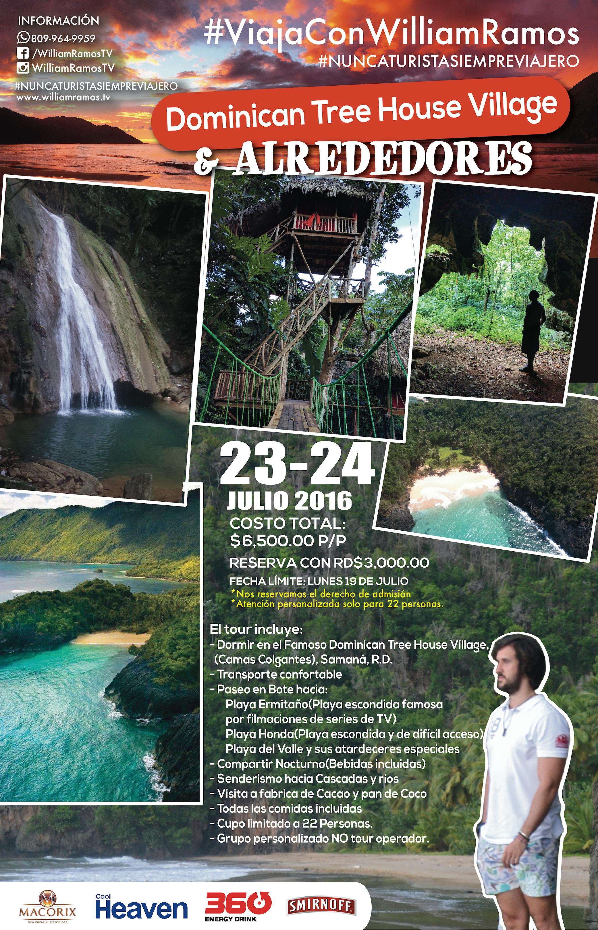 Reserva Excursión Samana Dominican Tree House & Alrededores