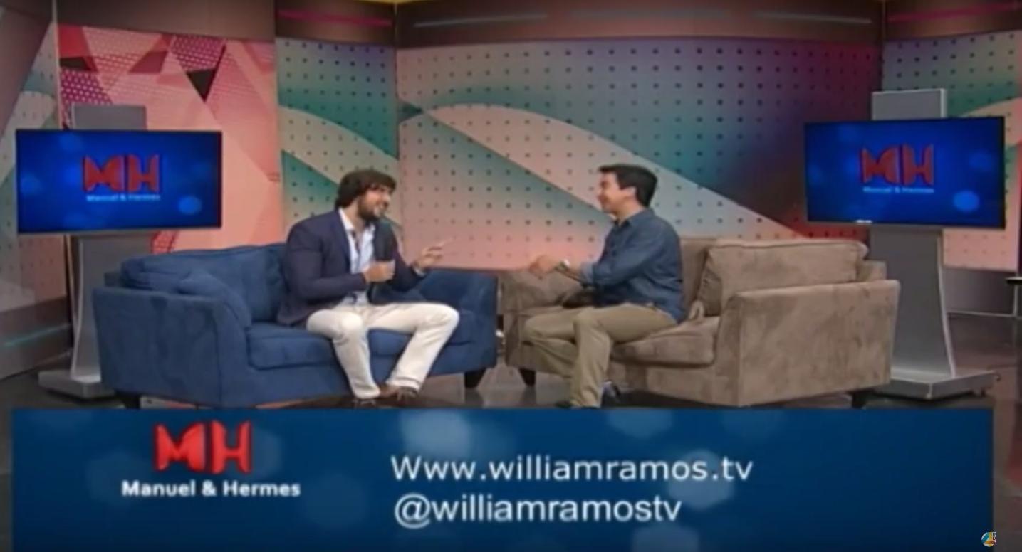 Televisión Dominicana: Entrevista a William Ramos por Canal 4