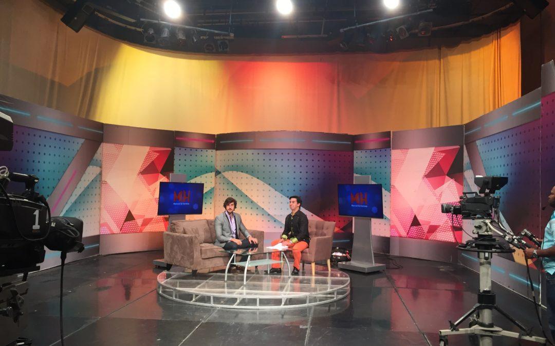 Entrevista con William Ramos – Canal Dominicano Manuel & Hermes