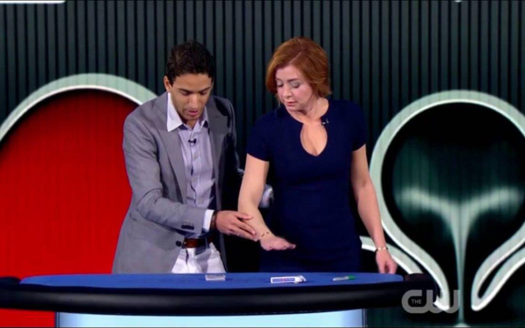 Felix Bodden: Ilusionista dominicano brillando en Programa TV Penn & Teller