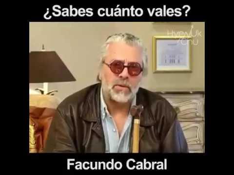 Facundo Cabral – El Mendigo y el Zapatero, ¿Sabes cuánto vales?
