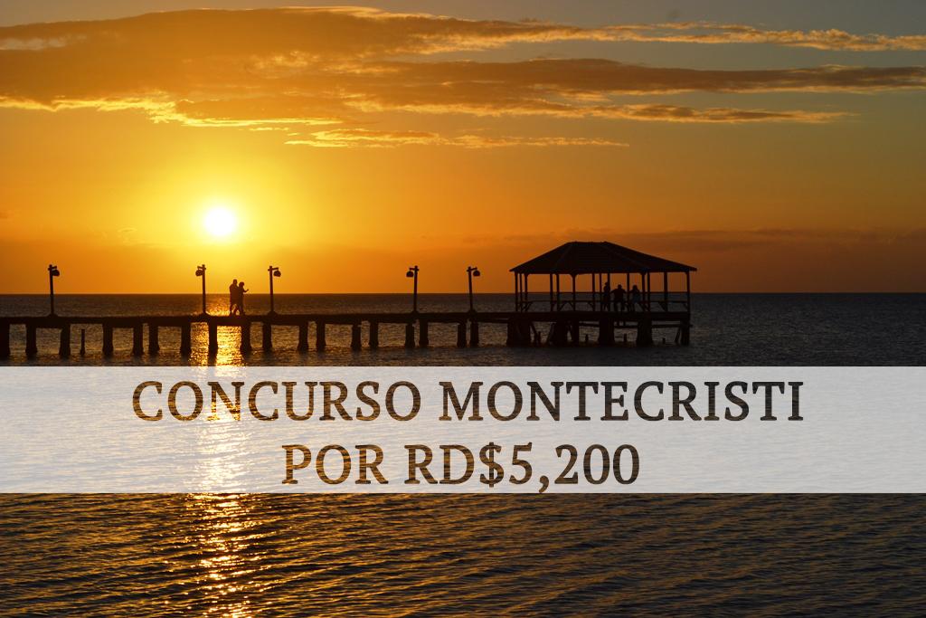 CONCURSO/REGALO Valorado en RD$5,200 para Viaje a Montecristi