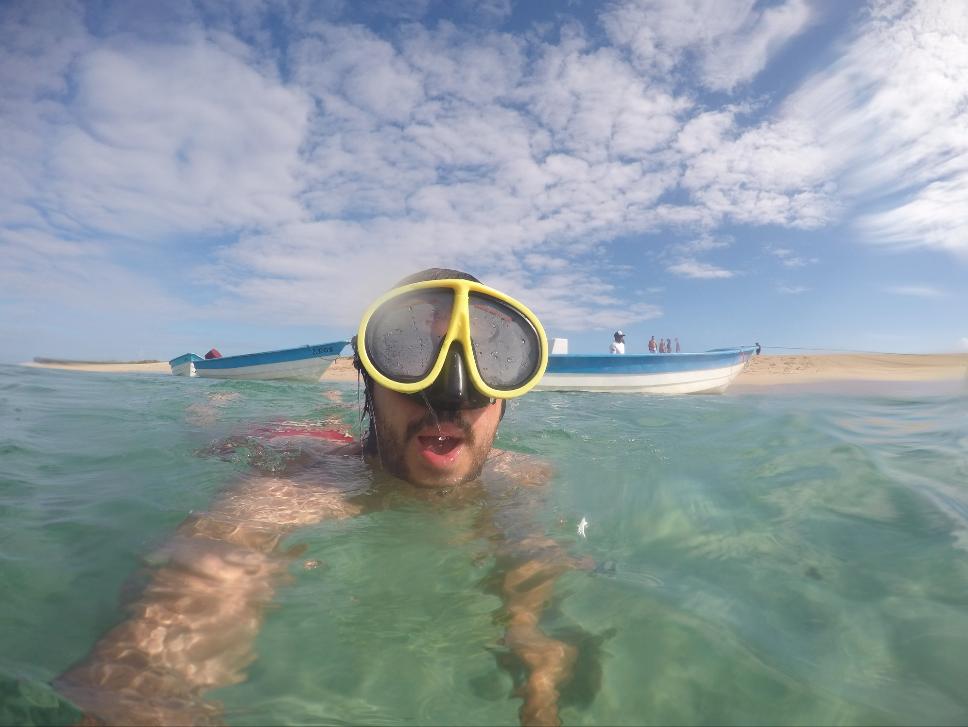 Snorkel en Cayo Tuna