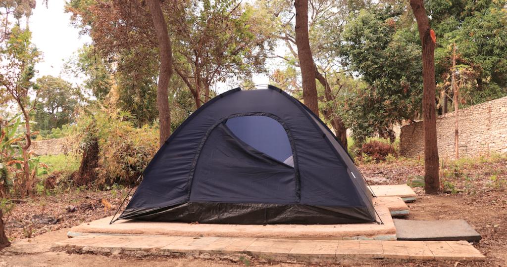 Camping en lago enriquillo