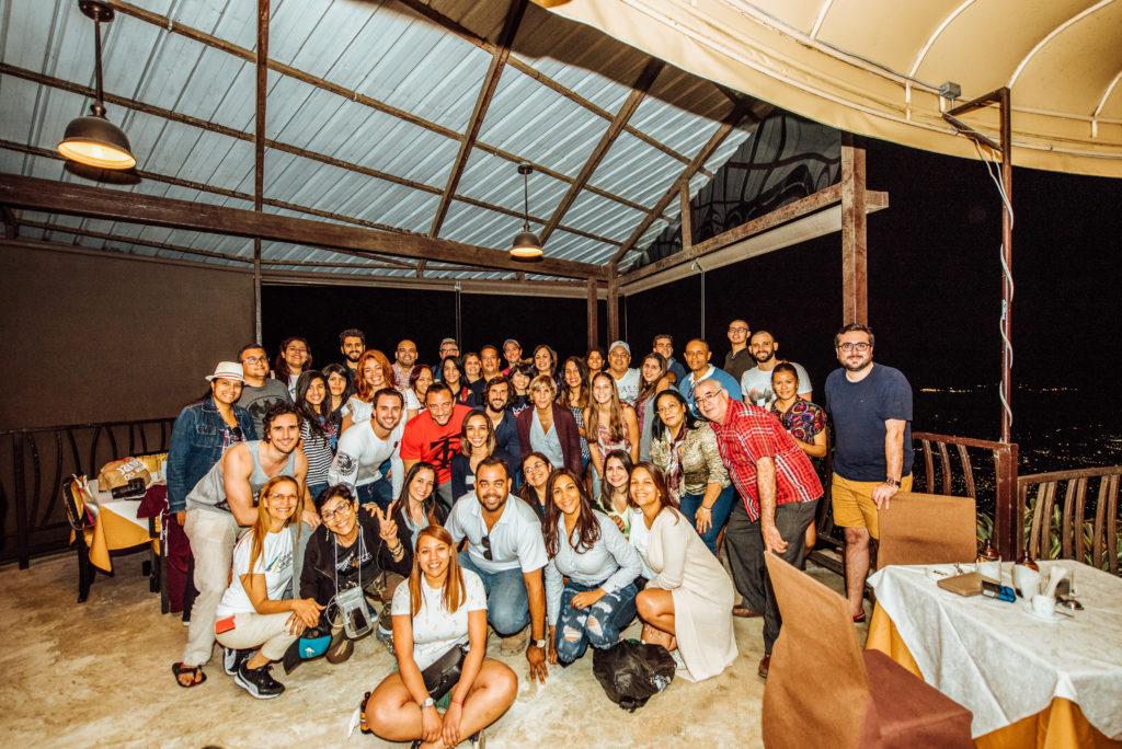Grupo de 52 Dominicanos que me acompañó a Haití
