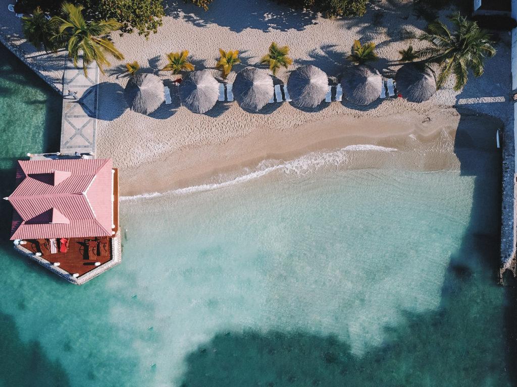 Playas en el Hotel Moulin Sur Mer, Haití