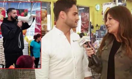 Visita Sorpresa de DRAKE en el Supermercado de un Dominicano Donde Regaló más de USD50,000