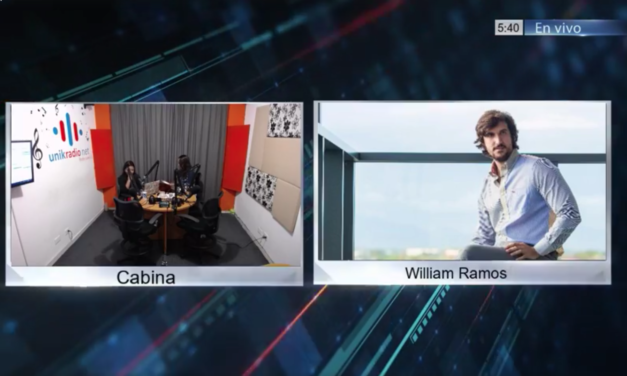 Entrevista a William Ramos por Parate Ahí Radio