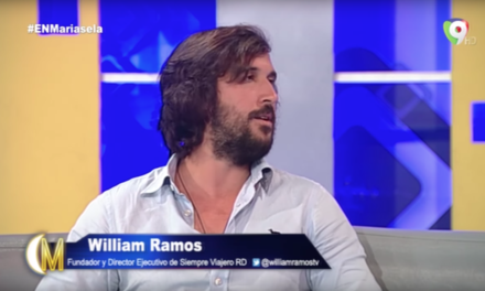 Mariasela Alvarez entrevista a William Ramos por Color Visión programa En Mariasela