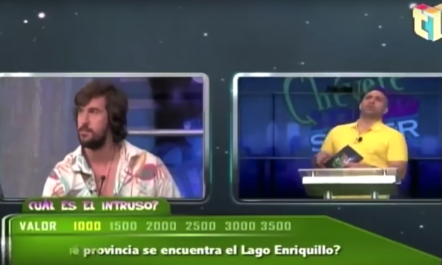 William Ramos en el Programa de TV Qué Chevere es Saber