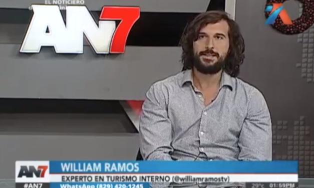 William Ramos presenta el Zip Line más alto de RD por Antena Latina Canal 7