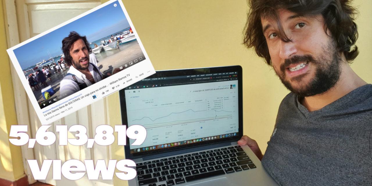 ¿Cuanto gana un YouTuber por un Video con 1 Millón de Visualizaciones?